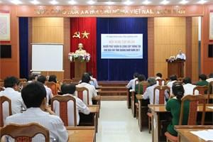 Quảng Nam: Tập huấn phát ngôn báo chí