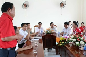 Quảng Nam: Thăm hỏi, hỗ trợ nạn nhân chất độc da cam