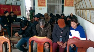 Quảng Nam: Triệt xóa thành công tụ điểm đánh bạc ở bên hồ Phú Ninh