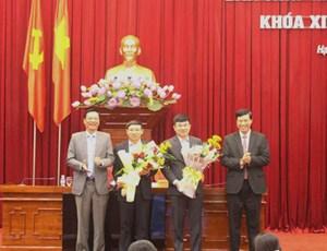 Quảng Ninh có 2 tân Phó Bí thư Tỉnh uỷ