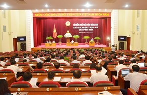 Quảng Ninh khai mạc kỳ họp thứ nhất HĐND tỉnh khóa XIII