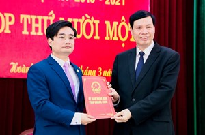 Quảng Ninh thêm một địa phương có Bí thư đồng thời là Chủ tịch huyện