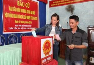 Quảng Trị: 50 người trúng cử Đại biểu Hội đồng nhân dân tỉnh