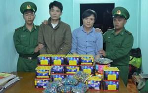 Quảng Trị: Bắt quả tang 2 vụ vận chuyển pháo lậu