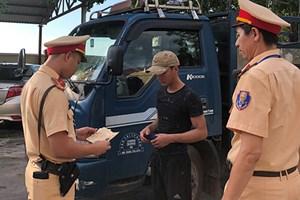 Quảng Trị: Phát hiện 5 tài xế dương tính với ma tuý khi lái xe