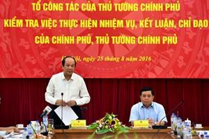 Kiện toàn nhân sự Tổ công tác của Thủ tướng Chính phủ