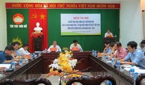 Quy chế phối hợp giữa Chính quyền và MTTQ tỉnh Thừa Thiên - Huế