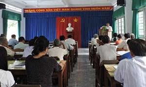 Quỳ Hợp, Nghệ An: Bồi dưỡng công tác Mặt trận cho cán bộ, hội viên