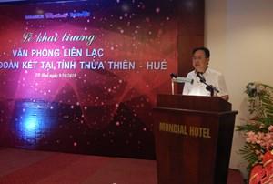 Ra mắt Văn phòng liên lạc báo Đại Đoàn Kết tại Thừa Thiên - Huế