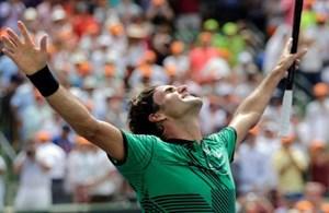 Roger Federer nói gì sau khi hạ Nadal để vô địch Miami Open?