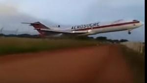 Rơi máy bay vận tải Colombia, 5 người thiệt mạng
