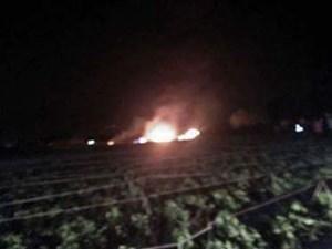 Rơi trực thăng quân sự tại Algeria làm 5 binh sỹ thiệt mạng