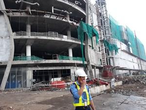 Rơi từ tầng 3 công trình, 3 công nhân bị thương nặng