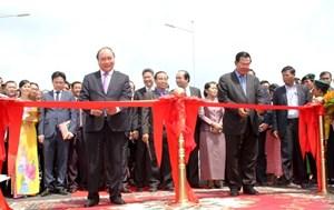 Rút ngắn tuyến đường từ biên giới Việt Nam tới Thủ đô Campuchia