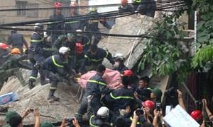 Sập nhà 43 Cửa Bắc, Hà Nội: Do nhà 41 đào móng xây dựng?