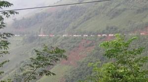 Sạt lở đất nghiêm trọng ở Sơn La
