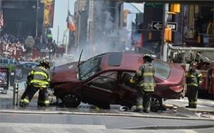Sau vụ tấn công bằng xe hơi tại quảng trường Thời Đại: New York cảnh giác