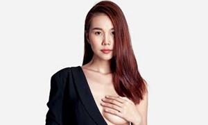 Siêu mẫu Thanh Hằng gây sốt với bộ hình nóng khoe vòng 1