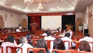 Sinh hoạt chuyên đề hưởng ứng Ngày pháp luật Việt Nam