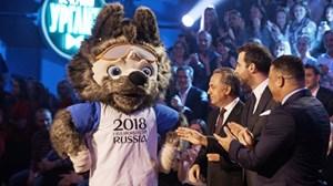Sói Zabivaka - linh vật của World Cup 2018