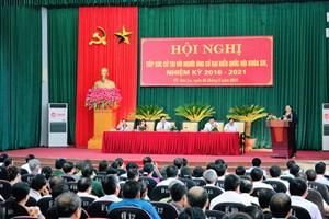 Sơn La: Tuyên truyền bầu cử bằng tiếng dân tộc