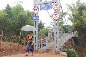 Sơn La xây nhiều cầu dân sinh