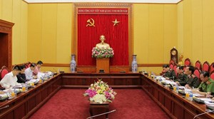 Sửa đổi, bổ sung quy định của Bộ Chính trị về tổ chức Đảng trong CAND