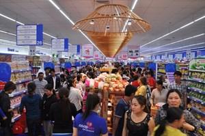 Sức mua tại siêu thị tăng 300% trong dịp Tết