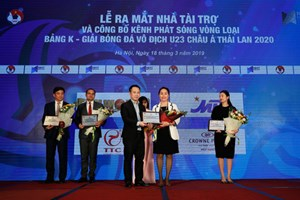 Sun World tài trợ phát sóng vòng loại U23 Châu Á Thái Lan 2020