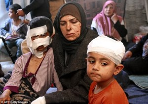 Syria: Chiến dịch sơ tán nối lại sau vụ đánh bom đẫm máu