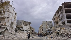 Syria: Lực lượng chính phủ tăng cường không kích khu vực Tây Bắc
