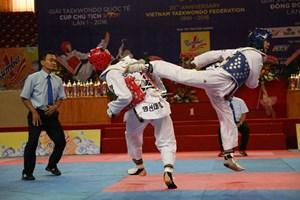 Taekwondo Việt Nam thắng lớn tại giải quốc tế trên sân nhà