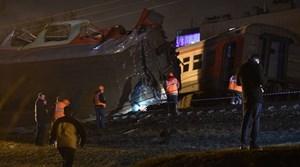 Tai nạn đường sắt kinh hoàng tại Nga, hàng chục người bị thương