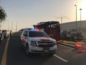 Tai nạn giao thông nghiêm trọng tại UAE, 17 người thiệt mạng