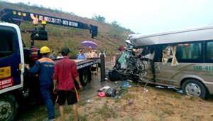 Tai nạn thảm khốc 9 người thương vong trên đường cao tốc Hà Nội – Lào Cai