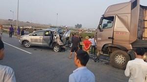 Tai nạn trên cao tốc Hà Nội - Thái Nguyên: Bắt tạm giam tài xế xe Toyota Innova