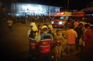 Peru: Xe buýt bất ngờ bốc cháy, ít nhất 20 người thiệt mạng
