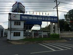 Tạm đình chỉ hoạt động Trung tâm đăng kiểm ở Đồng Nai