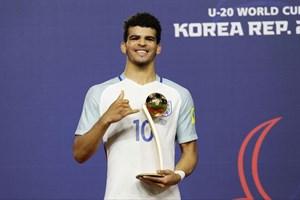 Tân binh Liverpool nhận giải Quả bóng vàng ở World Cup U20