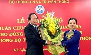 Tặng Huân chương Lao động hạng Ba cho Bộ trưởng Trương Minh Tuấn