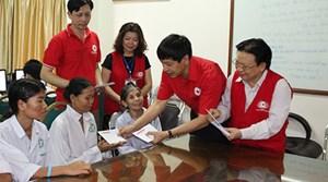 Tạo điều kiện phát huy vai trò của Hội Chữ thập đỏ