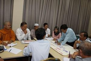 Tập huấn bảo vệ môi trường và giảm nhẹ rủi ro thiên tai cho các tôn giáo