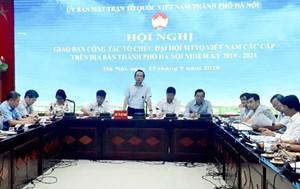 Tập trung làm tốt công tác chuẩn bị Đại hội MTTQ Việt Nam các cấp