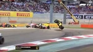 Tay đua F1 Nico Hulkenberg bình an sau tai nạn tại Grand Prix, Abu Dhabi