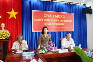 Tây Ninh cần tăng cường nguồn lực nâng cao đời sống cho dân