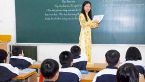Tây Ninh thông báo chỉ tiêu tuyển dụng giáo viên