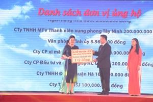 Tây Ninh vận động hơn 11,8 tỷ đồng chăm lo cho người có công