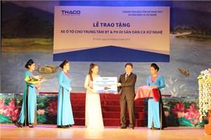 Thaco đã tặng nhiều xe cho các chương trình xã hội - từ thiện