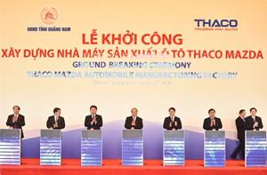 Thaco xây nhà máy sản xuất xe Mazda công suất 100.000 xe/năm