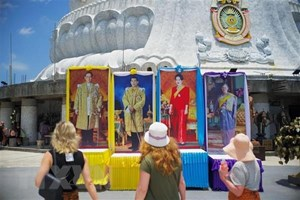 Thái Lan hoàn tất công tác chuẩn bị cho Lễ Đăng quang của vua Rama X